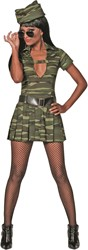 Jurkje Sexy Soldate voor dames