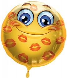 Folieballon Emoticon Lips 43cm