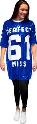 Pailletten Jurkje Miss Perfect 61 Blauw