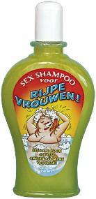 Shampoo Rijpe Vrouwen!