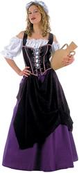 Damesjurk Middeleeuwse Marktvrouw