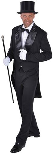 Heren Slipjas Cabaret Luxe Zwart