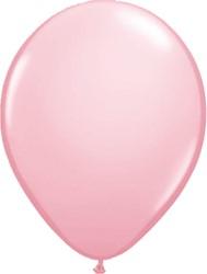 Ballonnen Metallic Roze 25st 35cm