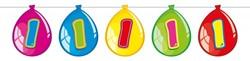 Ballonnen Vlaggenlijn 1 Jaar (10m)