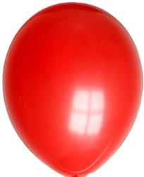 Ballonnen Metallic no14 Rood