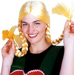 Pruik Schnucki Blond