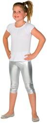 Legging 3 kwart Luxe KIDS Zilver