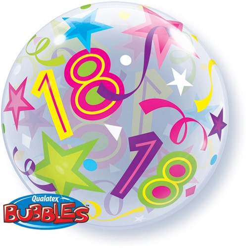 Bubble Ballon 18 Stars