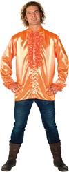 Rucheblouse Super Luxe Oranje