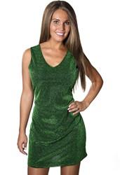 Dames Glitter Jurkje Groen