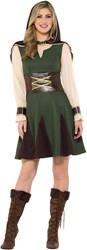 Kostuum Robin Hood Lady voor dames