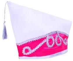 Komitee Muts Pink/Wit
