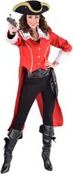 Admiraalsjas Rood voor dames