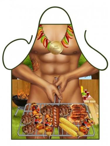 Schort Barbeque Man