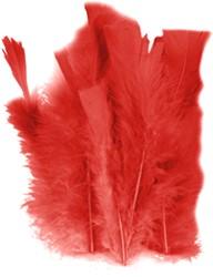 100 Veertjes Rood