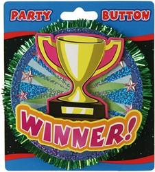 3D Button Winner