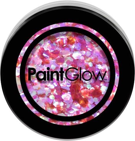 Paintglow Glitters Grof Pink 3gr.