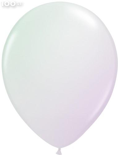 Ballonnen Metallic Parelmoer 35cm - 100 stuks