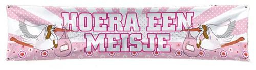 Banner Meisje 40X180CM