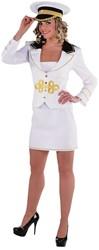 Kapiteinskostuum Love Boat voor dames