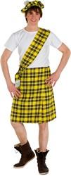 Kostuum Schot Geel 3dlg