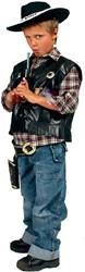 Cowboy Vest voor kinderen (leder)
