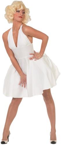 Marilyn Monroe jurk Wit