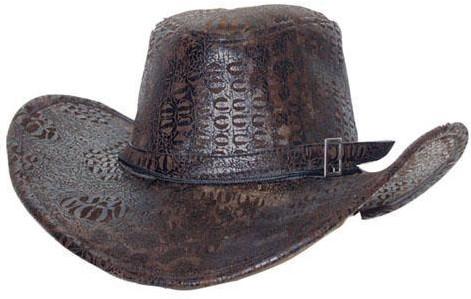 Hoed Cowboy Crocodille