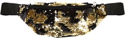 Buideltasje Pailletten Goud-Zwart