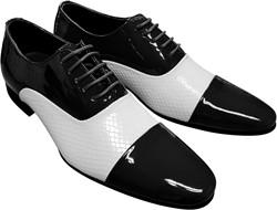 Heren Schoenen Zwart/Wit