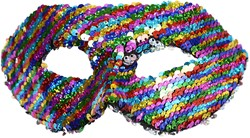 Venetiaans Oogmasker Pailletten Magic Rainbow