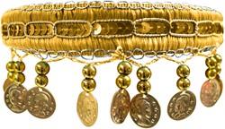 Haarband Zigeuner Luxe Goud