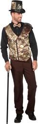 Heren Vest Steampunk Lacey