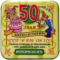 Pocket Tin 50 jaar Man