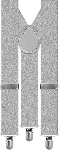 Bretels Luxe Zilver