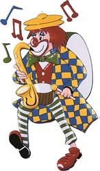 Clowndeco Saxofoon