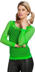 Nethemd Luxe Neon Groen