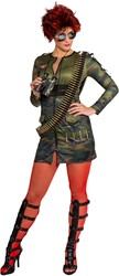 Sexy Damesjurkje Army Lady
