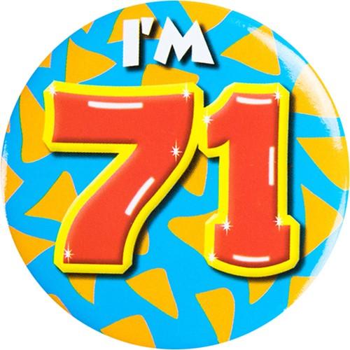 Button 71 jaar