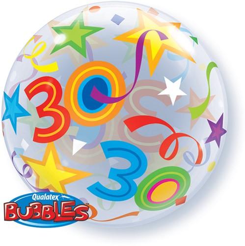 Bubble Ballon 30 Stars