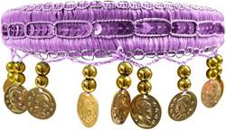 Haarband Zigeuner Luxe Lila