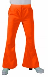 Hippie Broek Heren Oranje