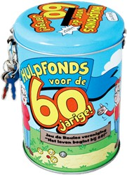 Spaarpot 60 jaar cartoon
