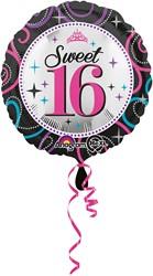 Folieballon Sweet 16 (43cm)