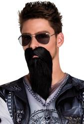 Biker Baard Zwart
