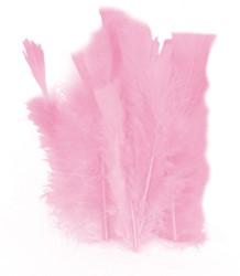100 Veertjes Roze