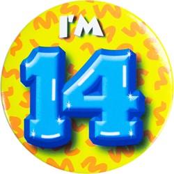 Button 14 jaar