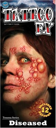 Wond Tattoo FX - Diseased