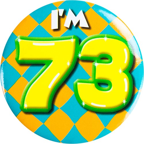 Button 73 jaar