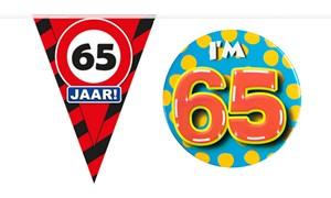 Decoratie & Versiering 65 jaar